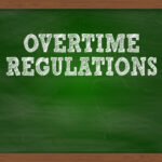 Overtime Regulation sign