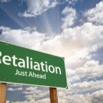 Green Retaliation sign