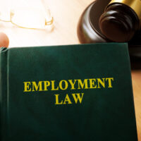 A employment law book