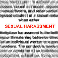 Sexual harassment is very clear as law state