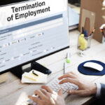 termination of employment on computer